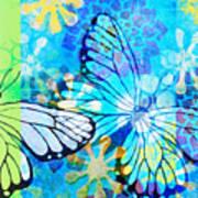 Butterfly In Flight #3  Art Print