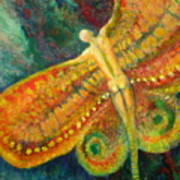 Butterfly Man Art Print