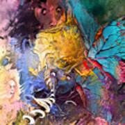 Butterfly Mind Art Print