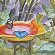 Butterfly Sanctuary At Niagara Falls Art Print