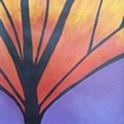 Butterfly Tree 1 Art Print