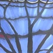 Butterfly Tree 2 Art Print
