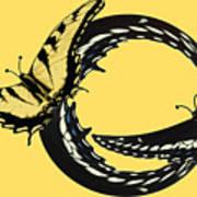 Butterfly Twist Art Print