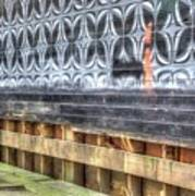 Butterfly Walled Graffiti Art Print