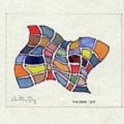 Butterfly Watercolor Art Print