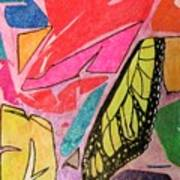 Butterfly Wing Art Print