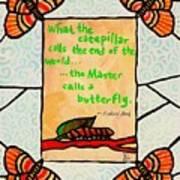 Butterflywhispers3 Art Print