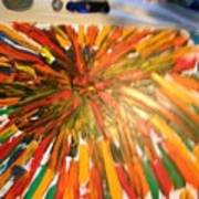 Bullet Proof Hurricane Glass One Art Print