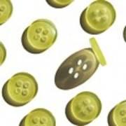 Button Up Art Print