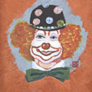 Buttons The Clown Art Print