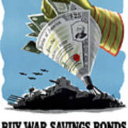 Buy War Savings Bonds Art Print