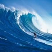 Buzzy Kerbox Surfing Big Art Print
