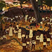 Bwa Kayiman Haiti 1791 Print by Nicole Jean-Louis