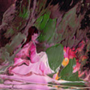 By The River Piedra I Sat Down And Wept Art Print