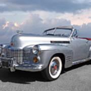 Bygone Era - 1941 Cadillac Convertible Art Print