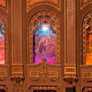 Byrd Theater Alcoves Art Print