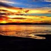 Byron Bay Sunset  Art Print