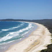 Byron Bay Tallow Beach, Australia Art Print