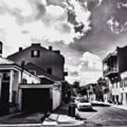 Bywater In Black And White Art Print