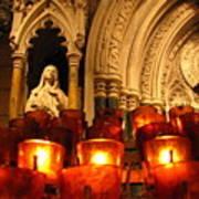 Byzantine Candles Art Print