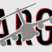 C-17 Cargo Art Print