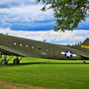 C-47 Special Delivery Art Print