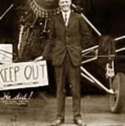 Charles A. Lindbergh And Spirit Of St. Louis 1927 Art Print