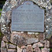 Ca-779 Rockville Stone Chapel Art Print