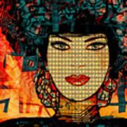 Cabaret Girl Art Print