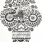 Cabeza De Vaca-cicleta Art Print