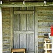 Cabin Door Art Print