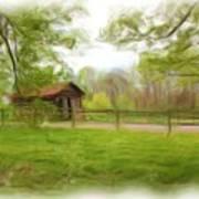 Cabin House Series 1360 Art Print