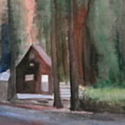 Cabin In The Woods 08 Art Print
