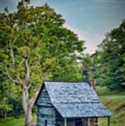 Cabin On The Blue Ridge Parkway - 10 Art Print
