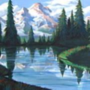 Cabin View Art Print