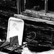 Cabin-window Art Print
