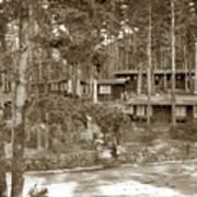 Cabins At Carmel Highlands Inn Circa 1930 Art Print
