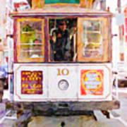 Cable Car No. 10 Art Print