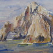 Cabo Arch Art Print