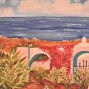 Cabo Garden Art Print