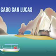 Cabo San Lucas Mexico Horizontal Scene Art Print