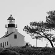 Cabrillo Lighthouse 3 Art Print