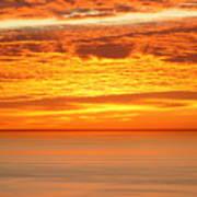 Cabrillo Sunset Art Print