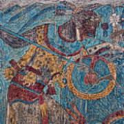 Cacaxtla Warrior I Art Print