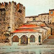 Caceres Spain Artistic Art Print