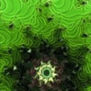 Cactus Abstract Art Print