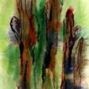 Cactus Coolers Art Print