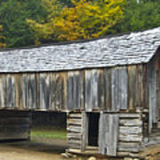 Cades Cove Barn Art Print