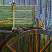 Cades Cove Mill No 2 Art Print