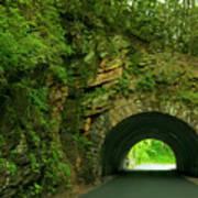 Cades Cove Tunnel Art Print